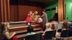 Muza poezji w przedszkolu Nagoszynie